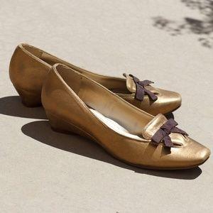 Esquire Golden Court Shoes